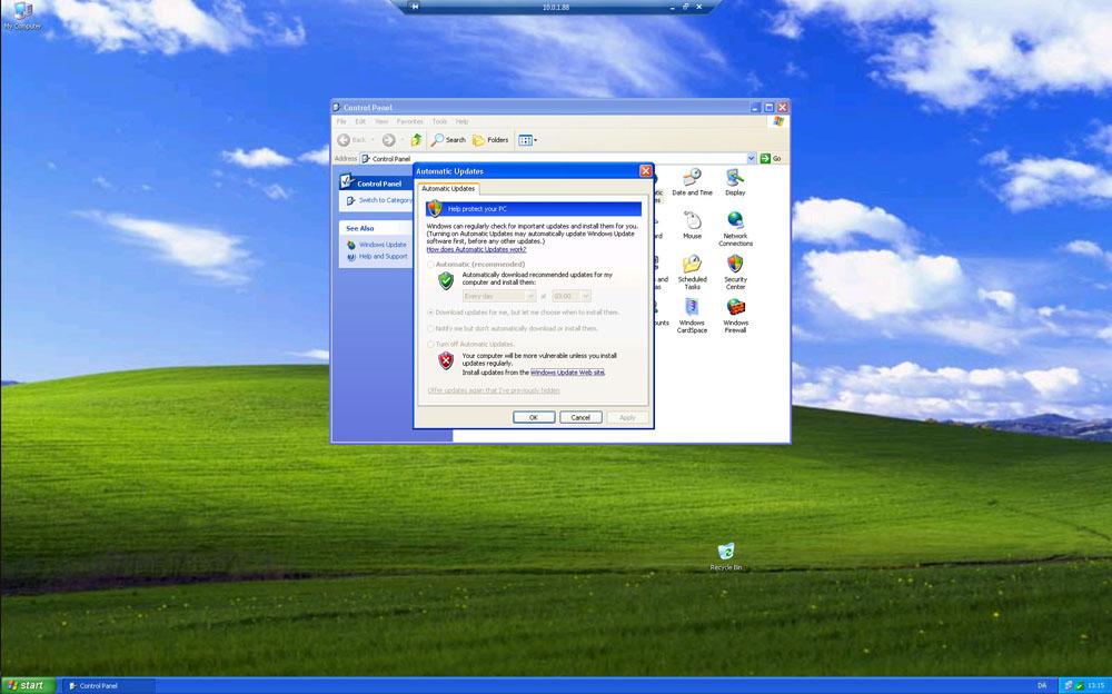 Windows XP opdateringer er stadig muligt på POS systemer.